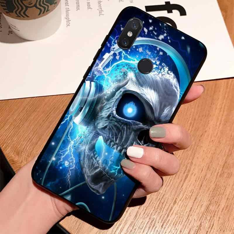 Tử Đồng Hồ Nam Bling Dễ Thương Ốp Lưng Điện Thoại Xiaomi Mi A1 A2 5 6 6 Plus 8 9 SE lite Pha 2 2S Max 2 3 Pocophone F1