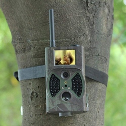 ABKT-HC-350M Trail Camera 16MP HD 1080P Infrared Night Vision Hunting Camera with 2.0 inch LCD Display for Wildlife Home Securit