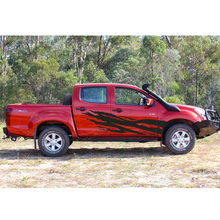 Fit for ranger t6/t7 car sticker off road decal pickup accessories side door stripe fit dmax