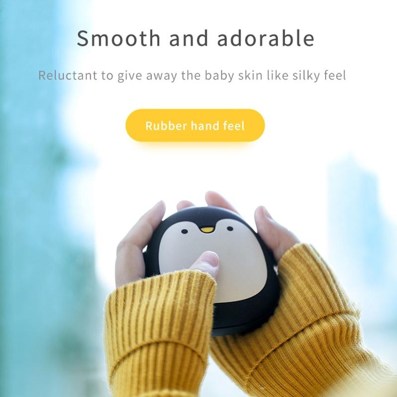 Kawaii Mini Bear Hand Warmer And Mobile Charger 2