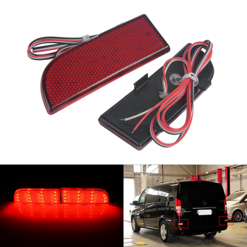 luftfederung luftfeder for mercedes vito viano w639 w638 6383280701rear air spring suspension shock a6383280601 l r pair ANGRONG LED Rear Bumper Reflector Light Red For Mercedes Benz W639 V-Class Vito Viano 03-14