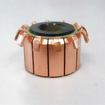 1PC 8*23*19.5mm 12P Teeth Copper Hook Type Electrical Motor Commutator CHY-1518-12