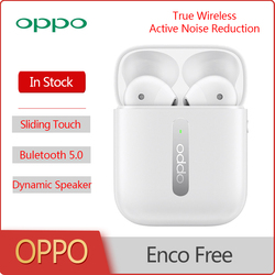OPPO Enco Free Wireless Bluetooth Earphones Super Dynamic Speaker AI Call Noise Reduction SlidingTouch Hands-free Headset