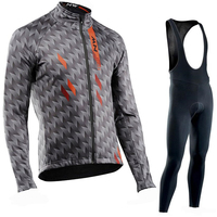 NW 2019 Pro team Cycling Jersey Clothes autumn Breathable Northwave men's long sleeve suit outdoor riding bike MTB clothing set