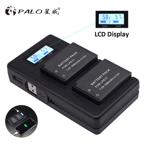 Image 5 - بالو LP E17 LP E17 LPE17 LCD USB شاحن مزدوج لكانون EOS 200D M3 M6 750D 760D T6i T6s 800D 8000D قبلة X8i كاميرات