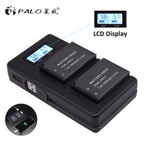Image 5 - PALO LP E17 LP E17 LPE17 LCD USB Double Chargeur pour appareil photo Canon EOS 200D M3 M6 750D 760D T6i T6s 800D 8000D Baiser X8i Caméras