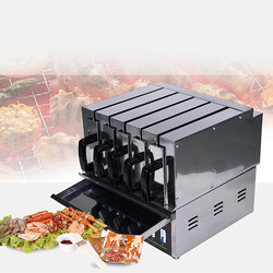 Drawer Oven Commercial Grilled Skewer Barbecue Oven Home Infrared Electric Oven Roaster Kebab Machine HG-300