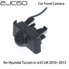 цена на ZJCGO CCD Car Front View Parking LOGO Camera Night Vision Positive for Hyundai Tucson ix ix35 LM 2010 2011 2012 2013 2014 2015