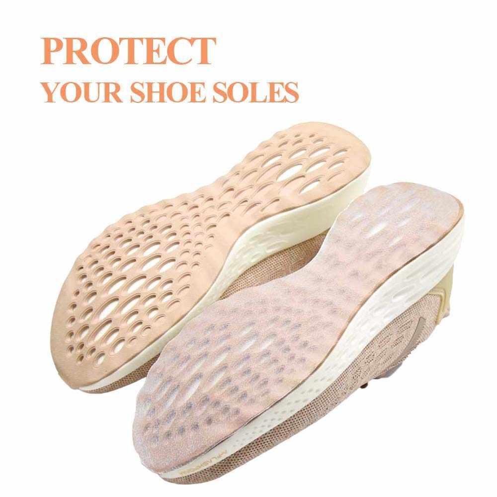 Pegatina única para Mujer Deporte Running AJ zapatos cinta antideslizante transparente autoadhesivo agarre a tierra almohadilla protectora de la suela