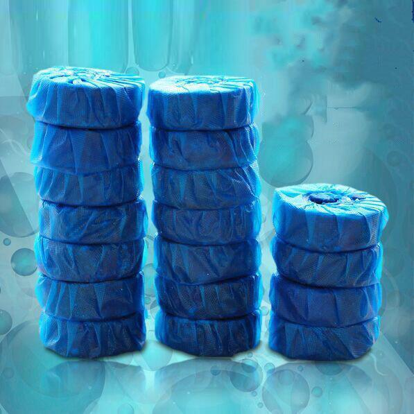 10 Pack Blue Bubble Toilet Cleaner Bathroom Durable Automatic Toilet Washing Toilet Deodorant Toilet Po