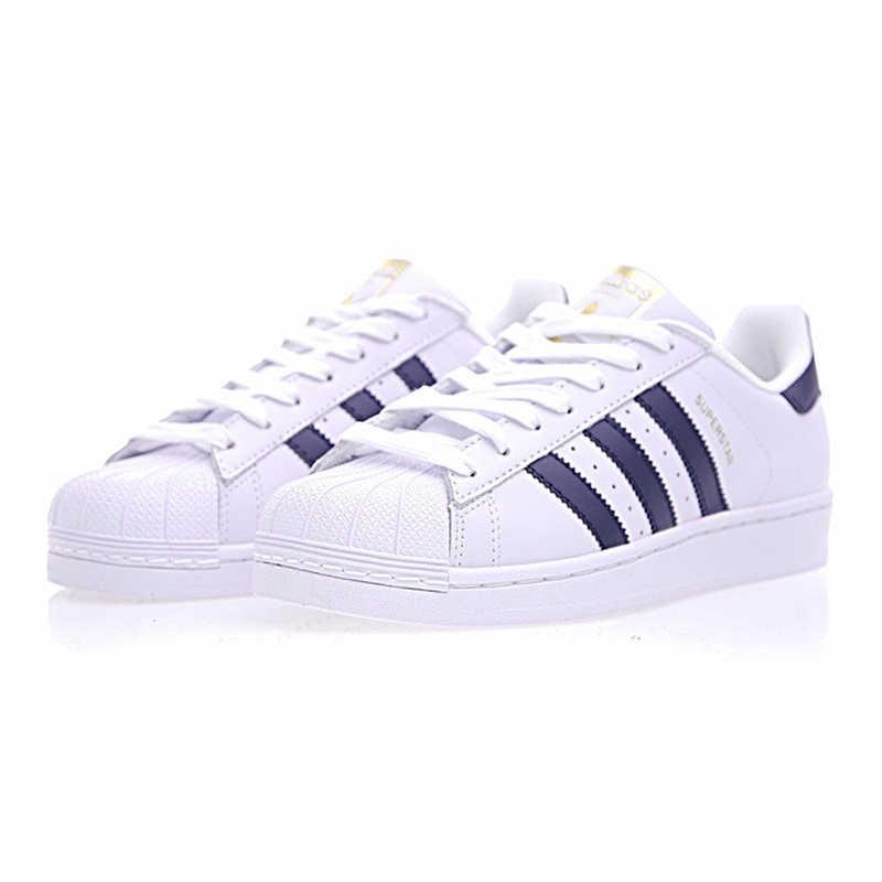 Adidas SUPERSTAR Clover zapatos de Skateboard para mujer y hombre zapatillas deportivas Skate Low Top diseñador S81014 talla U