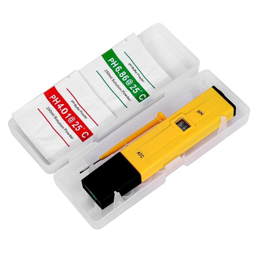 Handheld Digital Display PH Tester Aquarium Pool SPA Water Quality Monitor Purity Tester Tools For Testing PH Level