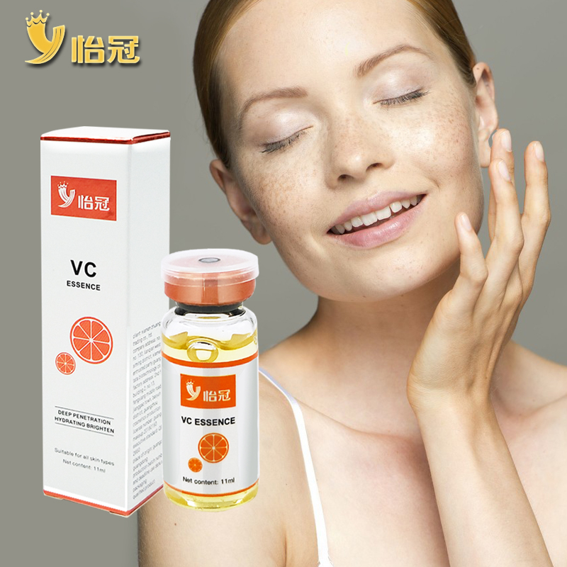 11ml Vitamin C Essence Whitening Moisturizing Serum Shrinks Pores Reducing Acne And Freckles Reducing Melanin Precipitation