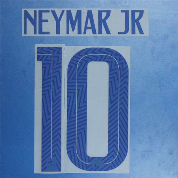 2019-20 Brazil NEYMAR JR Printing Nameset Football Stamping Patch Badge