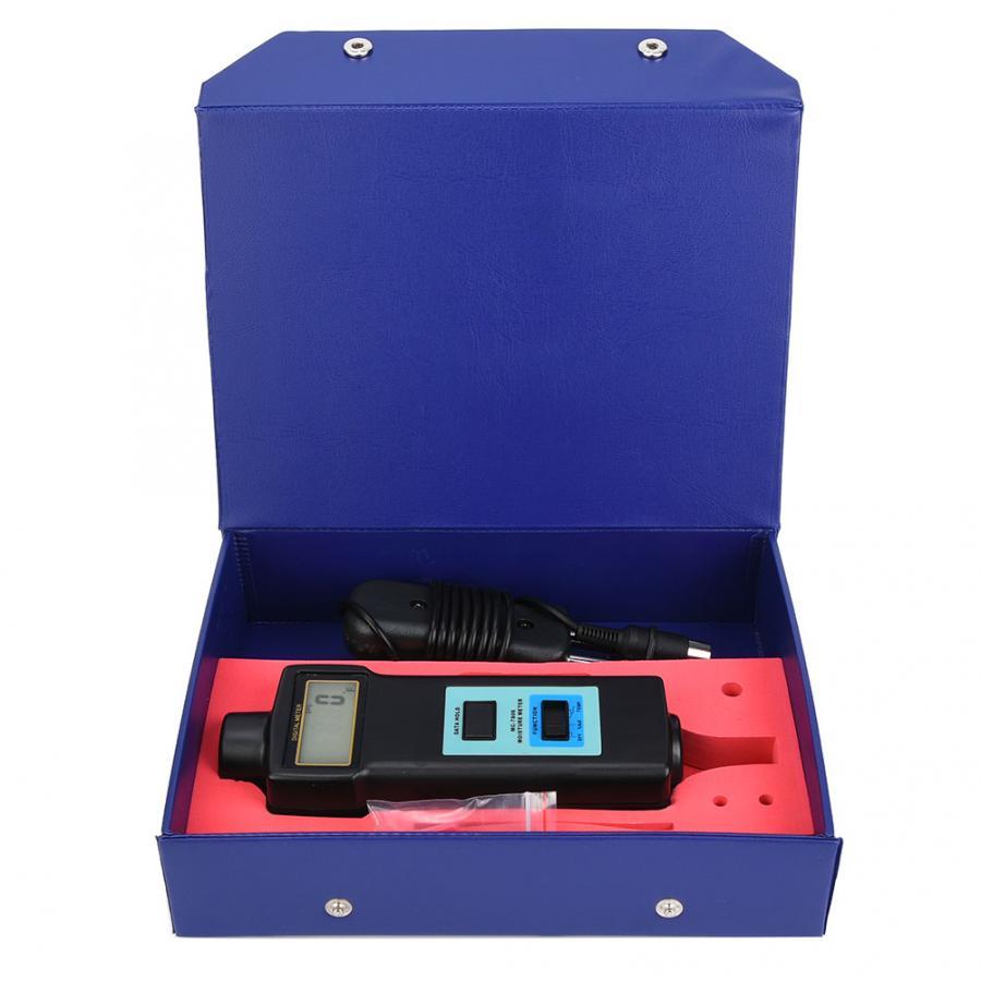 Humidimètre numérique LCD prise en main bois humidimètre détecteur humide hygromètre testeur capteur humidité mètre