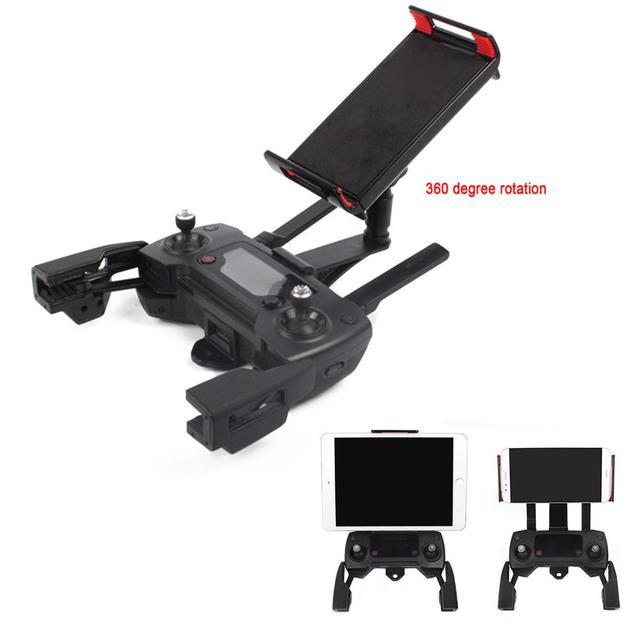 SUNNYLIFE Remote Controll Monitor Holder Support Bracket Tablet Stand Clip for DJI Mavic Mini Air Pro 2 Spark Drone Accessories