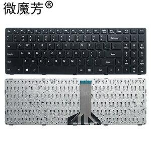 New Laptop Keyboard for Lenovo Ideapad B50-50 100-15 100-15IBD Type 80QQ 6385H-US NB-99-6385H-LB-00-US PK1310E1A00 SN20J78609