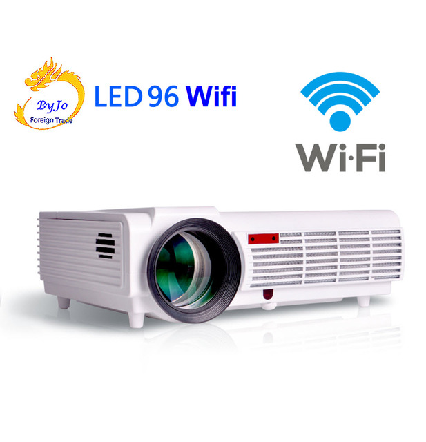 Poner Saund LED 96 wifi led projecteur de led 3D android wifi hd BT96 proyector 1080p HDMI vidéo Multi écran cinéma maison système