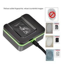 Huella-lector de huella dactilar tactilar, lector de huella dactilar biométrico USB, sistema de asistencia de Control de acceso para el hogar y la Oficina
