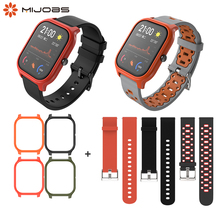Wrist Strap For Xiaomi Huami Amazfit GTS Wristband 20mm Silicone Bracelet Case Cover Protector Accessories for Amazfit GTS Band