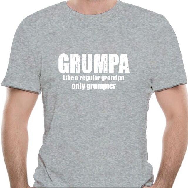 Grumpa Like A Regular Grandpa shirt Funny Grandpa fathers day black Shirt S-3XL