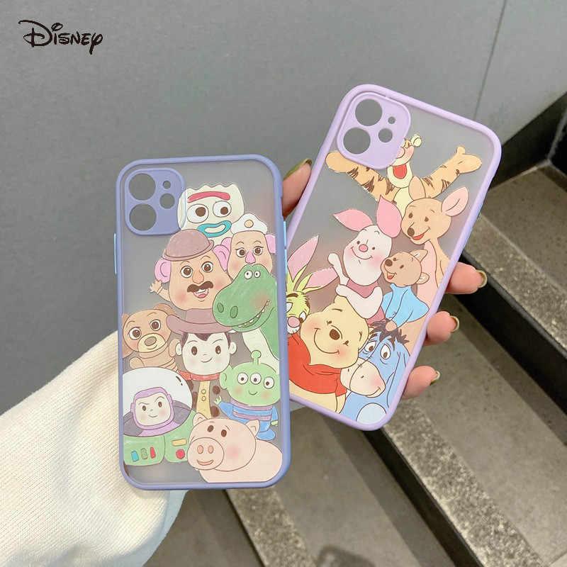 2021 Disney per iPhone 7/8 / Plus X/XS/XR/XS Max 11/11 Pro / 11 Pro Max winnie the pooh custodia per telefono