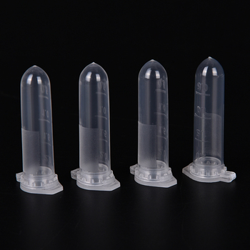 100pcs 2ml Micro Centrifuge Tube Vial Clear Plastic Vials Container Snap Cap 1