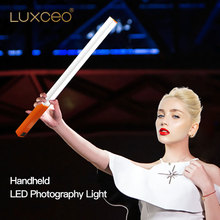 цена на Camera Video Light Portable Handheld LED Video  Ice Light USB Rechargeable Photography Lamp Stick Dimmable with Remote Control