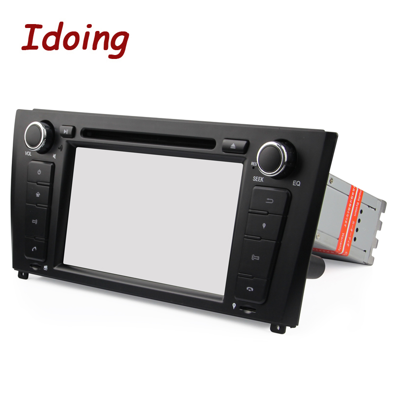 Idoing 2G Android7.1 1Din Steering Wheel For BMW E81/82/87/88 Quad Core Car Multimedia Player TV Fast Boot Built in 3G Dangle - 4