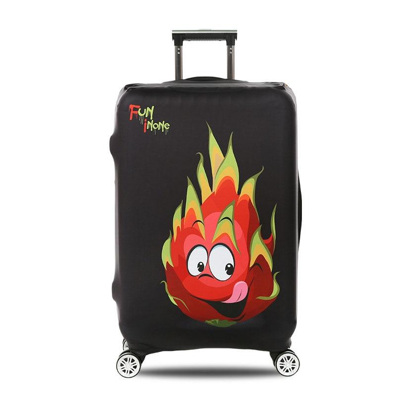 Чехол для чемодана Tigers с рисунком из мультфильма, чехол для багажника, подходит для чемодана 18 ''-32'', эластичный Чехол для багажа