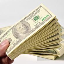10 pçs/set criativo 100 dólares dinheiro guardanapos papel higiênico banho festa suprimentos