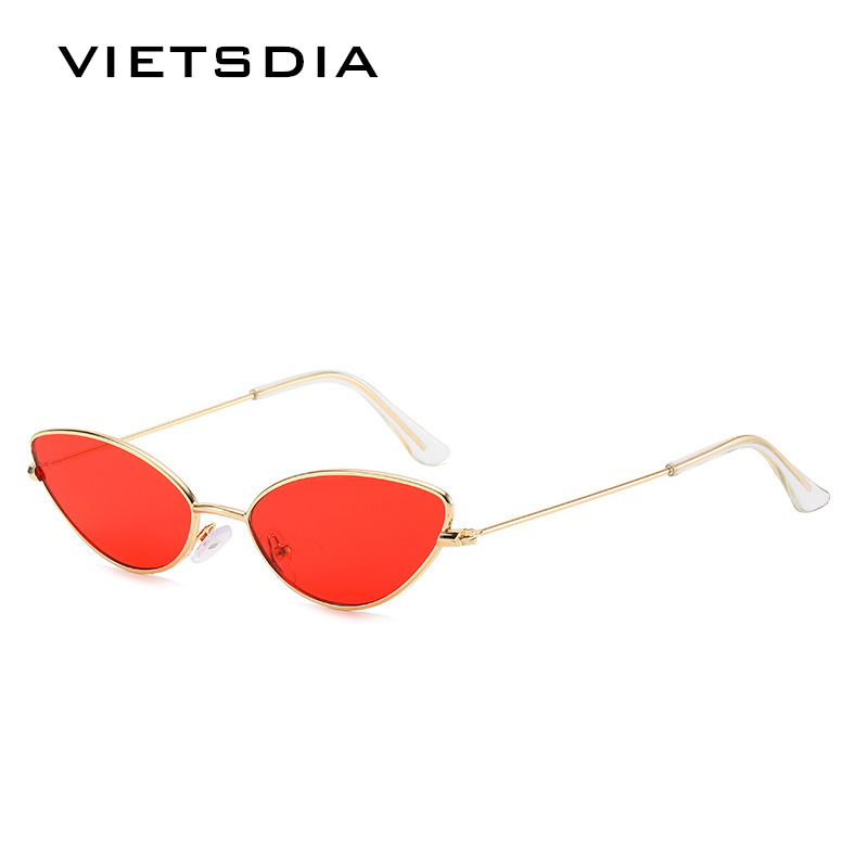 2019 New Cute Sexy Cat Eye Sunglasses Women Retro Small Black Red Pink Cateye Sun Glasses Female Vintage Shades for Women image