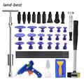 Land-лучшие инструменты для ремонта кузова автомобиля, безпокрасочный набор инструментов для удаления вмятин от града, скользящий молоток, Т-...