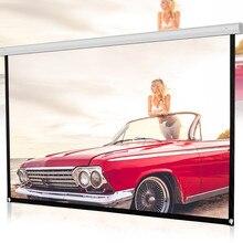 100 дюймовый HD экран проектора 16:9 проекционный портативный Экран для домашнего кинотеатра