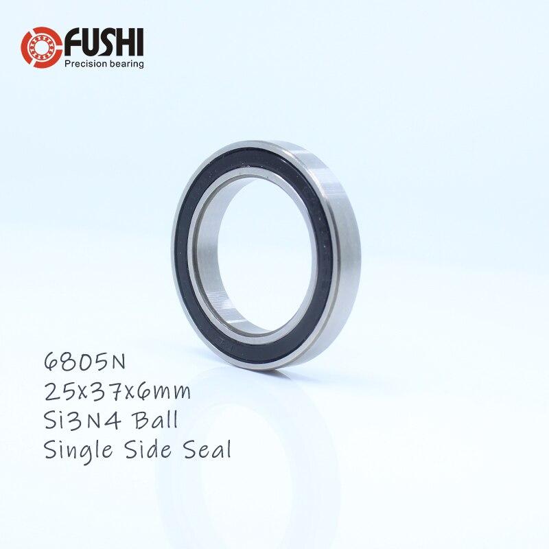6805N Bearing 25x37x6mm 1PC Bicycle For HT2 BB51 GC15 BB86 Bottom Bracket 6805-RD 6805N-RS MR25376 RS Si3N4 Ball Bearings