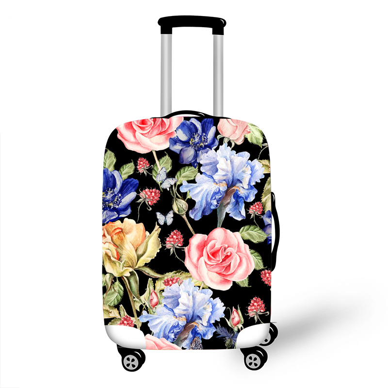 Elastic Luggage Protective Cover Case For Suitcase Protective Cover Trolley Cases Covers 3D Travel Accessories Pattern Pattern T