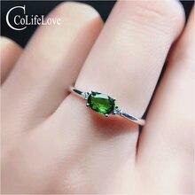 Ювелирные изделия colife 925 серебро драгоценный камень кольцо