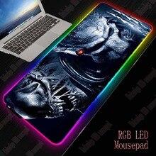 MRGBEST RGB светодиодные ХХL игровой коврик для мыши хищник вел поверхности подсветка клавиатуры рабочий стол коврик с природой резиновые геймер портативных ПК коврики