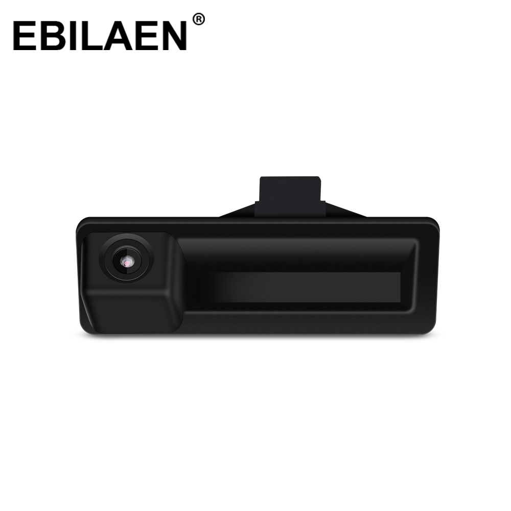 Car Trunk Handle Rear View Camera With HD Waterproof Parking Line DC 12V For BMW E60 E61 E70 E71 E72 E82 E84 E90 E91 Camera image