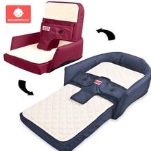 Портативная детская складная кровать, сумка для новорожденных, детская кроватка для путешествий, гнездо, пеленка для кровати, сумка для пеленания, принадлежности для детей, От 0 до 3 лет