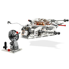 2020 333pcs Star Wars The Empire Strikes Back Snowspeeder 20th Anniversary Edition 11429 Building Kit  Model Kids Toys 2020 new star wars the empire strikes back 20th anniversary edition building blocks model bricks classic for children toys gift