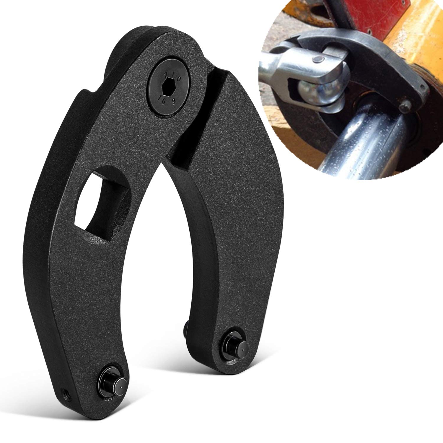 Pack of 2 SMALLFATW 1266 /&7463 Adjustable Gland Nut Wrench Small and Large Universal Adjustable Gland Nut Wrench for Hydraulic Cylinder