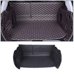 Samochód mata bagażnika dla Mitsubishi ECLIPSE CROSS 2018 akcesoria samochodowe niestandardowe cargo liner na