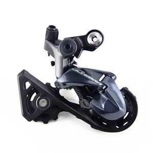 Image 3 - SHIMANO R8000 Groupset ULTEGRA R8000 vites yol bisiklet ST + FD + RD ön attırıcı arka vites kolu kolu