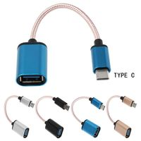 cable samsung USB 3.1 Type C Male to USB 2.0 Female OTG Data Cable For Samsung S9 S8 Pixel 2 (2)
