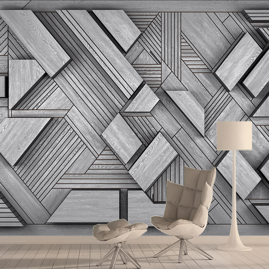 Abstract Brick 3d Wallpaper Mural Wallpapers For Living Room Cafe Wall Paper Papers Home Decor Self Adhesive Walls Murals Rolls
