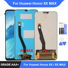 цены на For Huawei Honor 8X LCD Display Touch Screen Digitizer Assembly Repair Parts for Huawei Honor 8X MAX Display Replacement  в интернет-магазинах