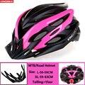 KINGBIKE 4 цвета велосипедный шлем  женские и мужские велосипедные шлемы  светильник  горный велосипед  горный велосипед  дорожный MTB  цельнолиты...