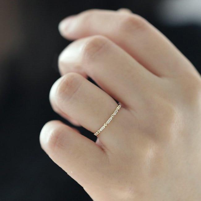14K Gold 0.5 Carats Diamond Jewlery Ring for Women Fine Bizuteria Anillos De Diamante Gemstone 14K Gold Silver 925 Jewelry Rings