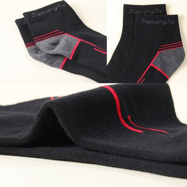 Мужские носки спортивные,хлопок дышащие с материалом против пота 2
